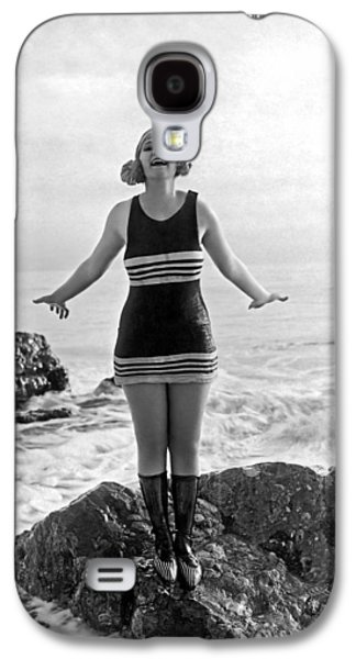 A Flapper In Her Bathing Suit Galaxy S4 Case