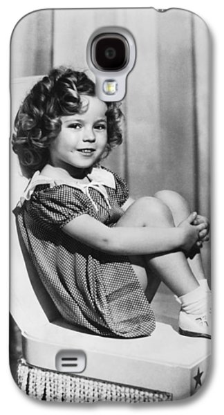 Actress Shirley Temple Galaxy S4 Case by Underwood Archives