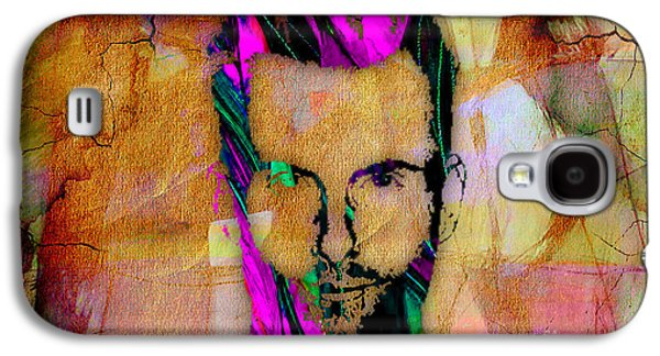 Adam Levine Maroon 5 Galaxy S4 Case by Marvin Blaine
