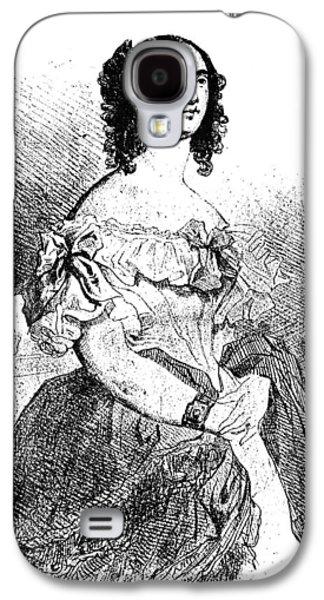 Adele Foucher Hugo (1804-1868) Galaxy S4 Case by Granger
