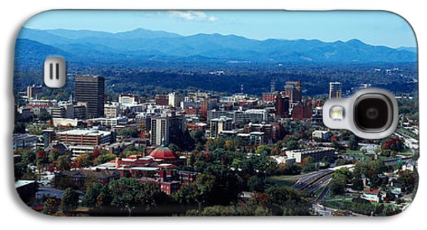 Aerial View Of A City, Asheville Galaxy S4 Case