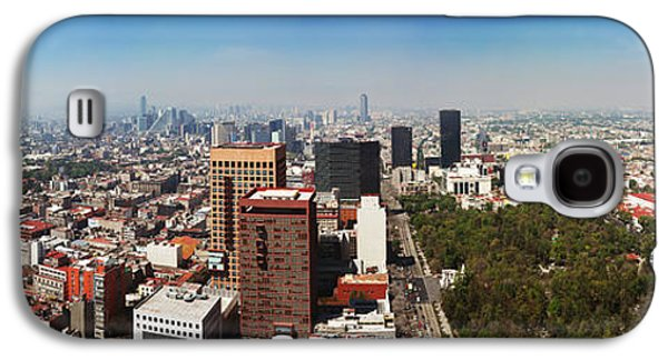 Aerial View Of Cityscape, Mexico City Galaxy S4 Case