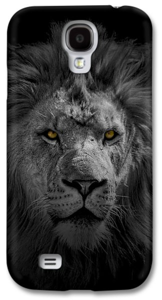 African Lion Galaxy S4 Case