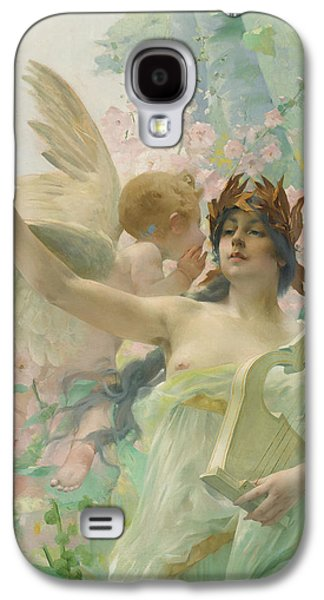 Allegory Of Music Galaxy S4 Case by Paul Francois Quinsac