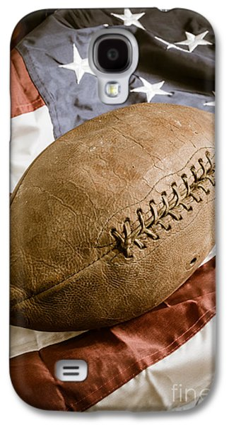 American Football Galaxy S4 Case by Edward Fielding
