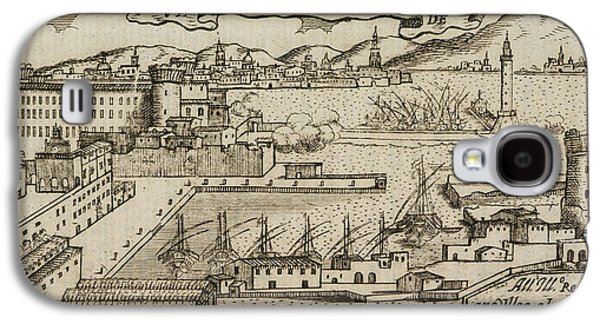 An Ancient Illustration Of Naples Galaxy S4 Case by British Library