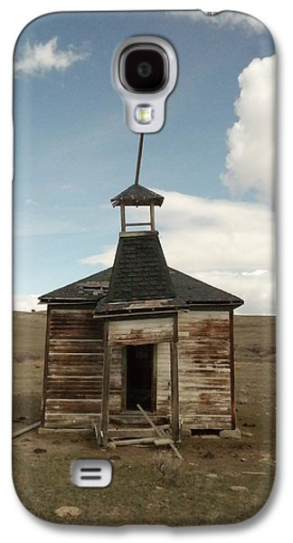 An Old Montana School House  Galaxy S4 Case
