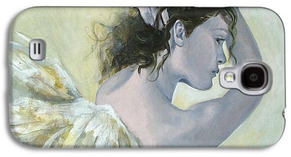 Angel    Galaxy S4 Case by Dorina  Costras