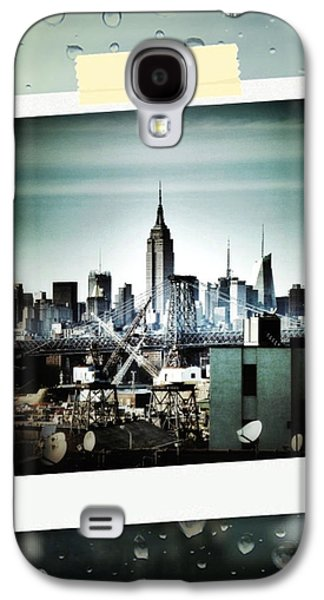 April In Nyc Galaxy S4 Case by Natasha Marco