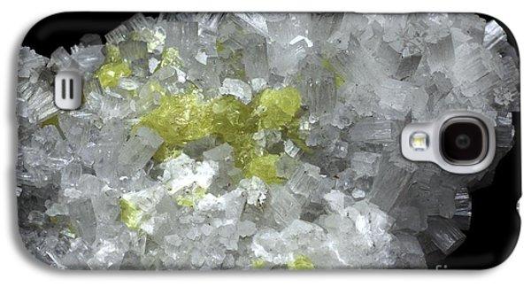Aragonite Crystals With Sulphur Galaxy S4 Case