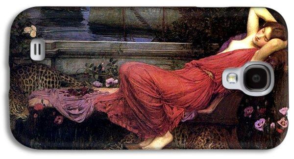 Minotaur Galaxy S4 Case - Ariadne by John William Waterhouse