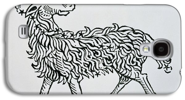 Aries An Illustration From The Poeticon Galaxy S4 Case by Italian School