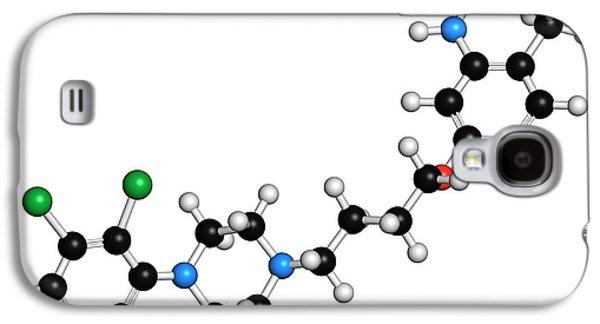 Aripiprazole Antipsychotic Drug Molecule Galaxy S4 Case by Molekuul