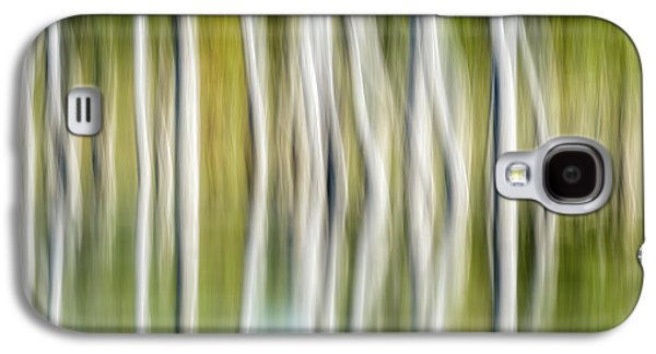 Artistic Abstract Of Trees Galaxy S4 Case by Rona Schwarz