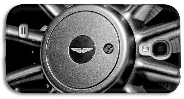Aston Martin Db7 Wheel Emblem Galaxy S4 Case by Jill Reger