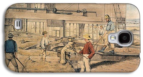 Australia Gold Mine, 1867 Galaxy S4 Case