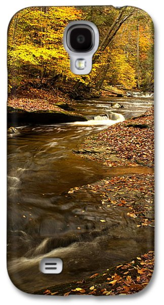 Autumn And Creek Galaxy S4 Case