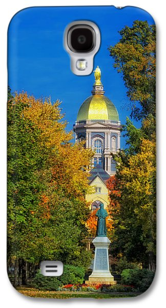 Autumn On The Campus Of Notre Dame Galaxy S4 Case by Mountain Dreams