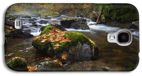 Autumn Stream Galaxy S4 Case by Mike Dawson