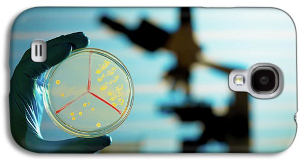 Bacterium Growing On Petri Dish Galaxy S4 Case by Wladimir Bulgar