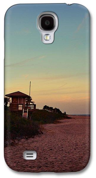Beach Hut Galaxy S4 Case