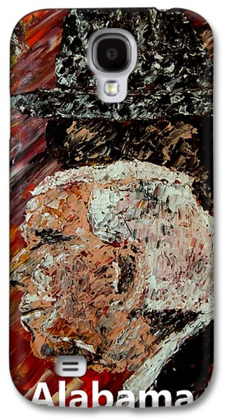 Bear Bryant And Mal Moore  Galaxy S4 Case by Mark Moore