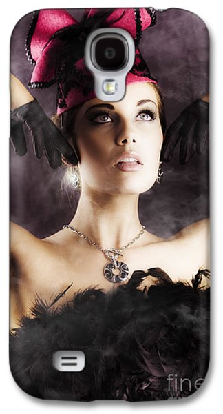 Beautiful Cancan Dancer Galaxy S4 Case by Jorgo Photography - Wall Art Gallery