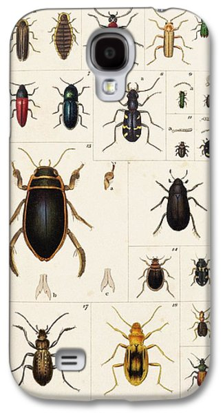 Beetles Galaxy S4 Case by King's College London