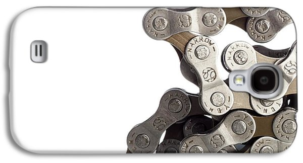 Bicycle Chain Coiled Up Galaxy S4 Case by Science Photo Library