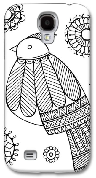 Bird Dove Galaxy S4 Case by Neeti Goswami