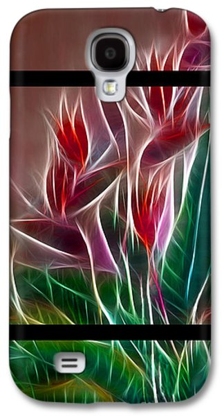 Bird Of Paradise Fractal Galaxy S4 Case