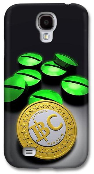 Bitcoin And Medicine Galaxy S4 Case