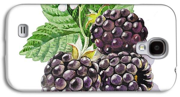 Artz Vitamins Series The Blackberries Galaxy S4 Case by Irina Sztukowski