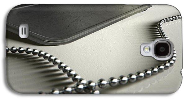 Blank Identity Dog Tags Dramatic Galaxy S4 Case by Allan Swart