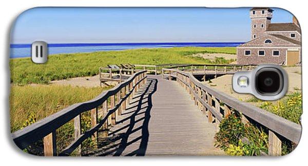 Boardwalk Leading Towards Old Harbor Galaxy S4 Case