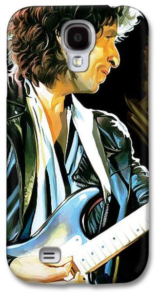 Bob Dylan Artwork 2 Galaxy S4 Case by Sheraz A