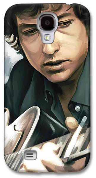 Bob Dylan Artwork Galaxy S4 Case
