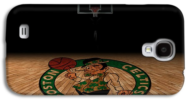Boston Celtics Galaxy S4 Case by Joe Hamilton