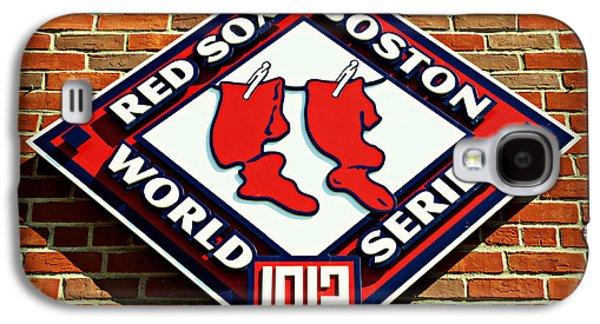 Boston Red Sox 1912 World Champions Galaxy S4 Case by Stephen Stookey