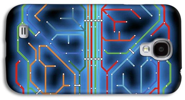 Brain Galaxy S4 Case by Alfred Pasieka