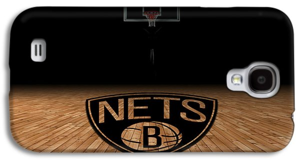 Brooklyn Nets Galaxy S4 Case by Joe Hamilton