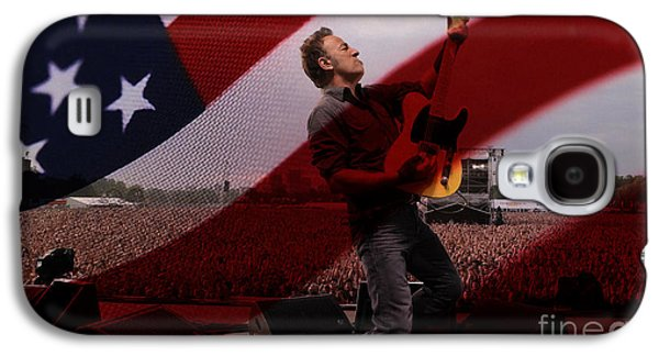 Bruce Springsteen Galaxy S4 Case by Marvin Blaine