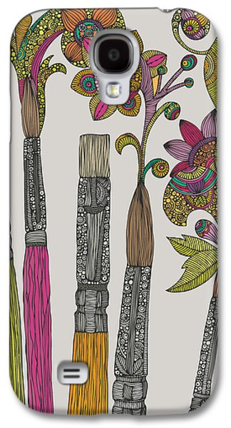 Brushes Galaxy S4 Case