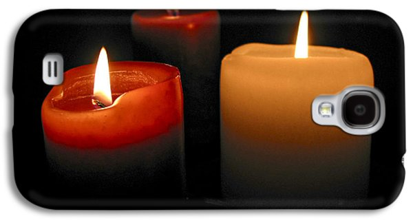 Burning Candles Galaxy S4 Case