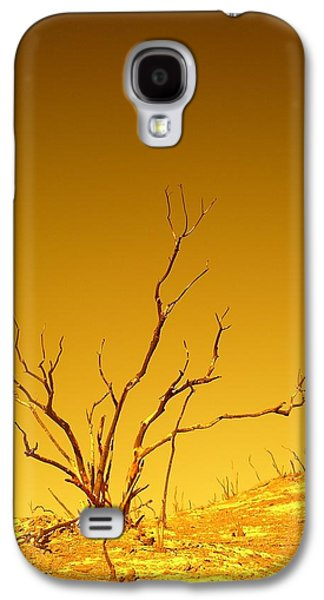 Burnt Bush Galaxy S4 Case