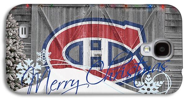 Canadiens Galaxy S4 Case by Joe Hamilton