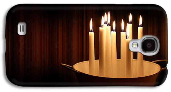 Candle Light Galaxy S4 Case by Heike Hultsch
