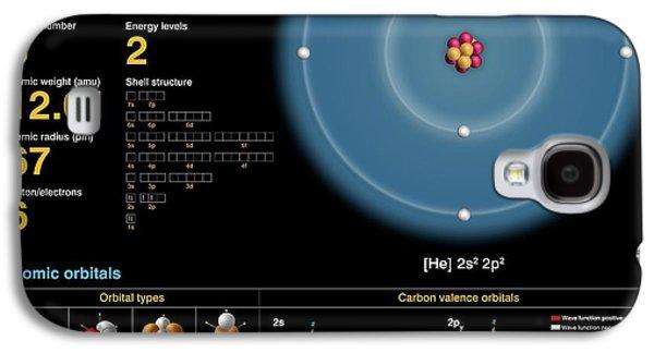 Carbon Galaxy S4 Case by Carlos Clarivan