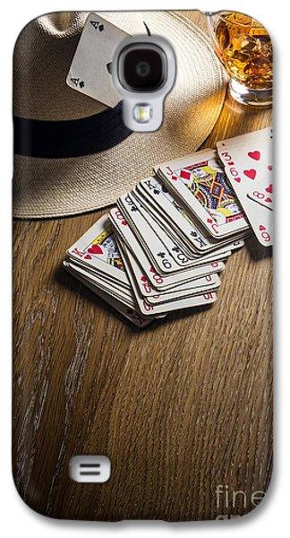 Card Gambling Galaxy S4 Case by Carlos Caetano