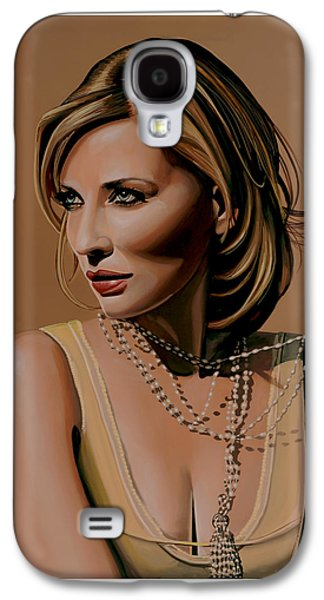Cate Blanchett Painting  Galaxy S4 Case